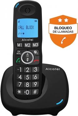 TELÉFONO INALÁMBRICO ALCATEL CON BLOQUEO LLAMADAS ENTRANTES