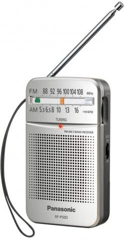 RADIO DE BOLSILLO PANASONIC CON ALTAVOZ Y AURICULARES INCLUIDOS